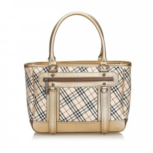 Burberry Nova Check Nylon Handbag