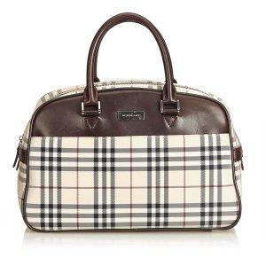Burberry Handbag beige nylon