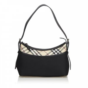 Burberry Nova Check Nylon Shoulder Bag