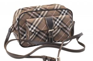 Burberry Nova Check Shoulder Bag