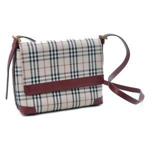 Burberry Shoulder Bag brown textile fiber