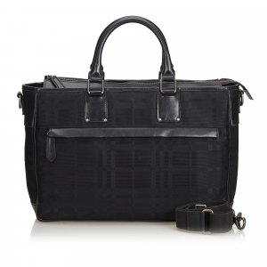 Burberry Business Bag black nylon