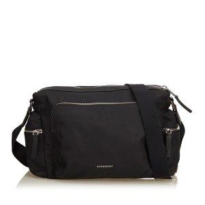Burberry Gekruiste tas zwart Nylon