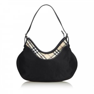 Burberry Nylon Hobo Bag