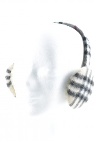 Burberry Earmuff check pattern Brit look