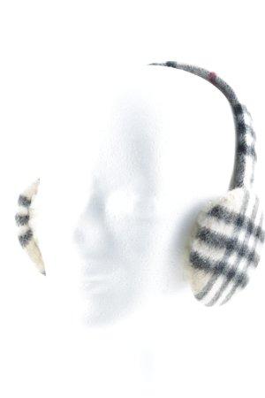 Burberry Cache-oreilles motif à carreaux style anglais