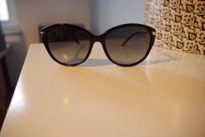 Burberry Lunettes de soleil ovales noir matériel synthétique