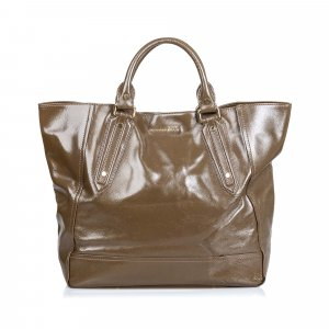 Burberry Tote khaki imitation leather