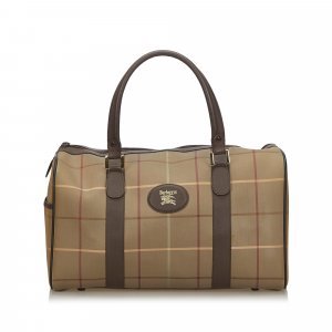 Burberry Travel Bag light brown
