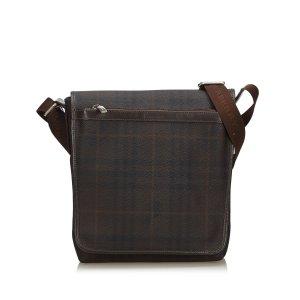 Burberry Shoulder Bag dark brown