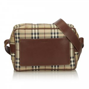 Burberry Plaid Crossbody Bag