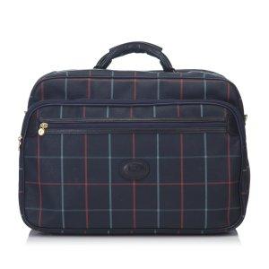 Burberry Plaid Duffel Bag