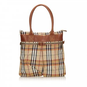 Burberry Tote light brown