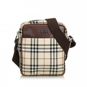 Burberry Crossbody bag brown nylon