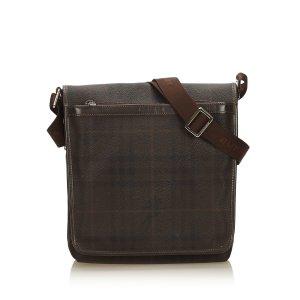 Burberry Plaid Shoulder Bag