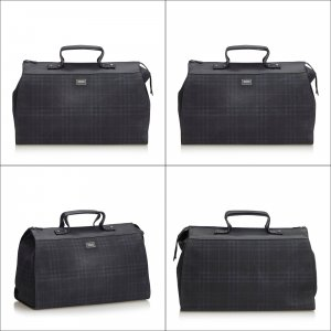 Burberry Plaid Travel Bag