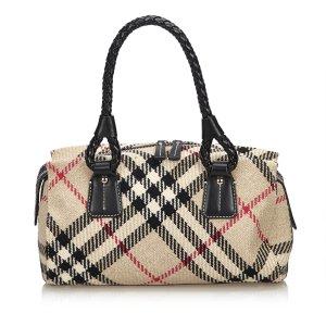 Burberry Handbag brown wool
