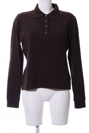 Burberry Polo Shirt brown casual look