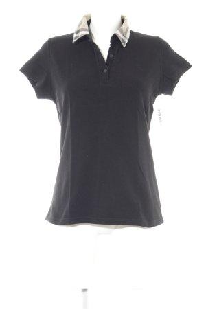 Burberry Polo-Shirt Karomuster klassischer Stil