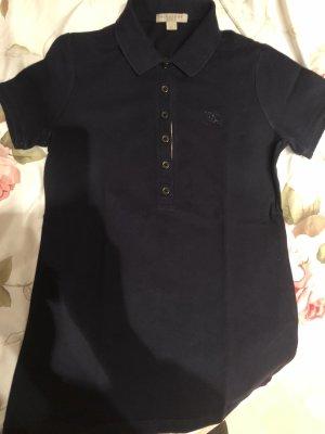 Burberry Poloshirt, dunkelblau, Größe XS, guter Zustand