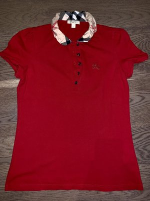 Burberry Brit Polo shirt donkerrood