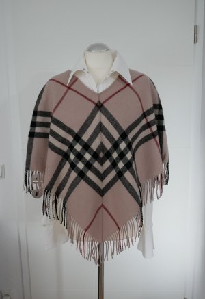 Burberry Poncho multicolored merino wool