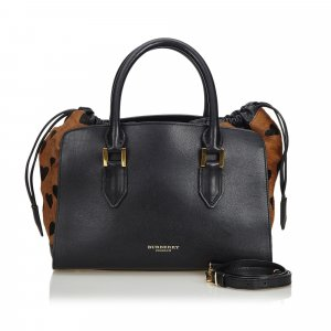 Burberry Pony Hair Dinton Satchel