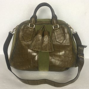 Burberry Prorsum, Classic Bowling Bag, Bright Caper, Alligator, neu, € 12.050,