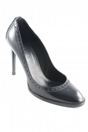 Burberry Prorsum High Heels schwarz Brit-Look