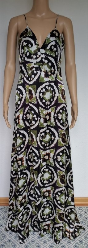 Burberry Prorsum, Kleid, purple black, Seide, 38/40 (It. 44), neu, € 2.750,-