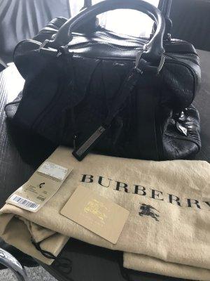 Burberry Prorsum Bolso de bolos negro Cuero