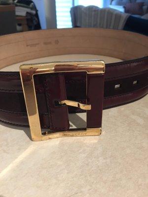 Burberry Prorsum Leder Gurtel 75