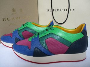 Burberry Prorsum The Field Leder Sneaker Gr.39 neu
