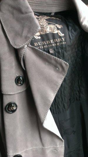 Burberry Prorsum Wildleder Trenchcoat, zweireihig