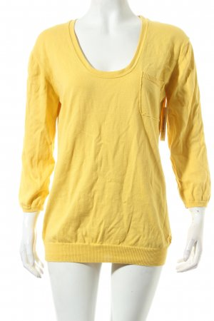 Burberry Pullover gelb Casual-Look