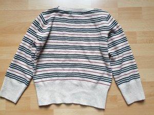 Burberry Kraagloze sweater beige-camel Katoen