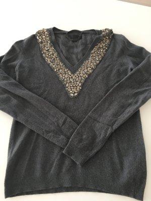Burberry Pullover M Cashmere und Merino-Wolle