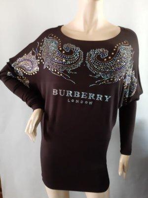 Burberry London Pull long bronze