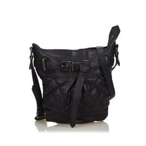 Burberry Crossbody bag black leather