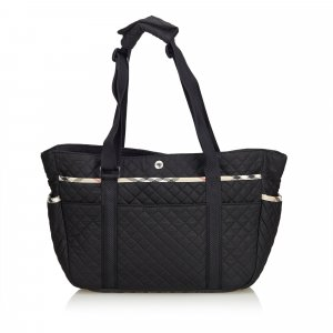 Burberry Quilted Nylon Diaper Bag