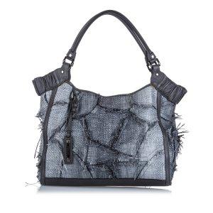 Burberry Raffia Tote Bag