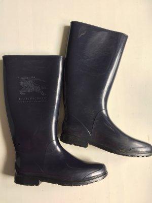 Burberry Wellington laarzen donkerblauw