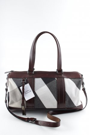 Burberry Travel Bag multicolored Brit look