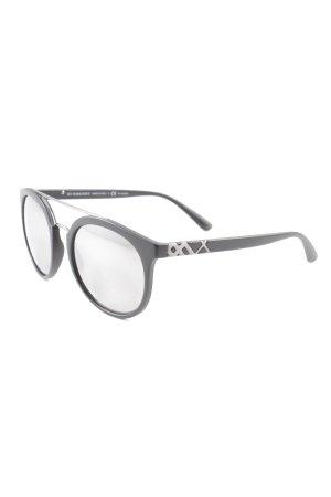 Burberry Retro Glasses black casual look