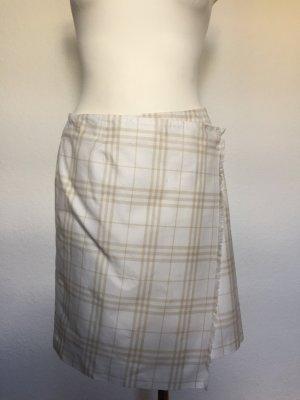 Burberry Jupe mi-longue blanc cassé-beige clair