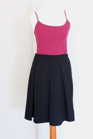 Burberry London Plaid Skirt black