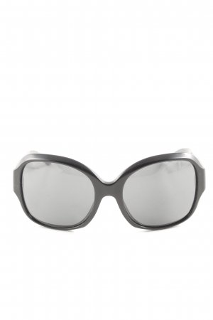 Burberry Round Sunglasses black casual look