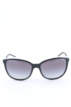 Burberry Round Sunglasses black simple style