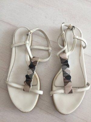 Burberry Romeinse sandalen wit
