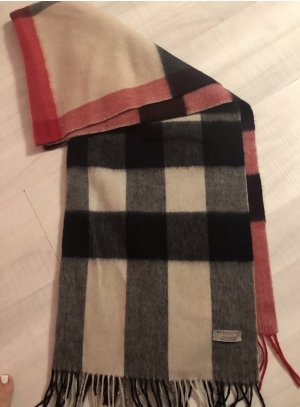 Burberry Sciarpa in cashmere multicolore